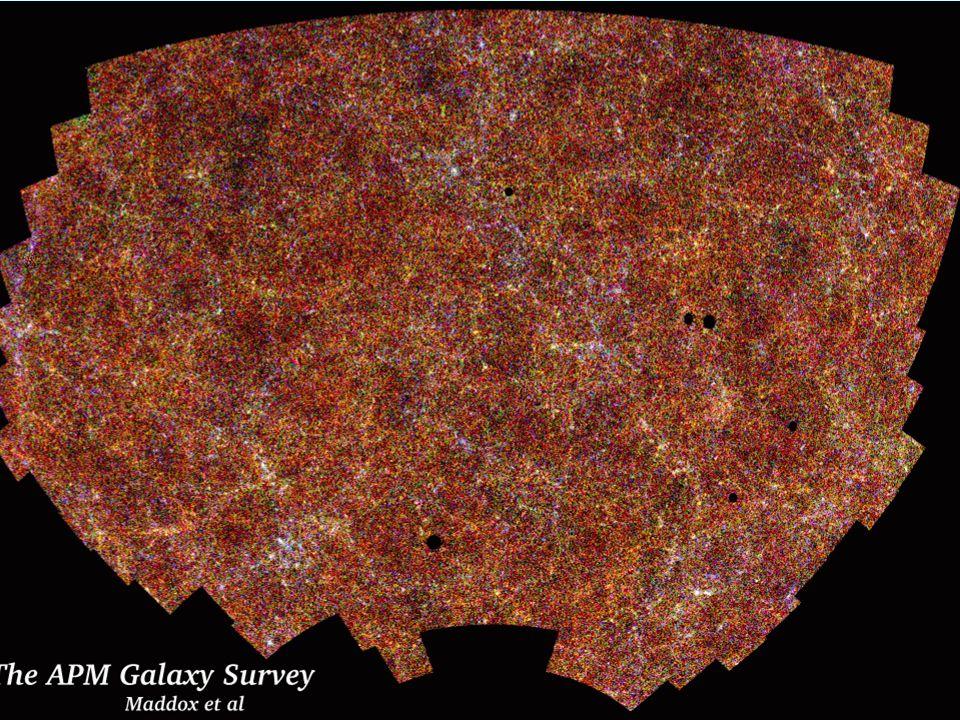 49 Formation des galaxies instabilité gravitationnelle Dans un Univers en expansion, les structures ne collapsent pas de façon exponentielle, mais se développent de façon linéaire Fluctuations de densité au départ / << 1 définition / = Les structures se développent comme le rayon caractéristique ~ R(t) ~ (1 + z) z décalage vers le rouge (1+z) ~ longueur donde des photons 1+z 10 -5 R(t)