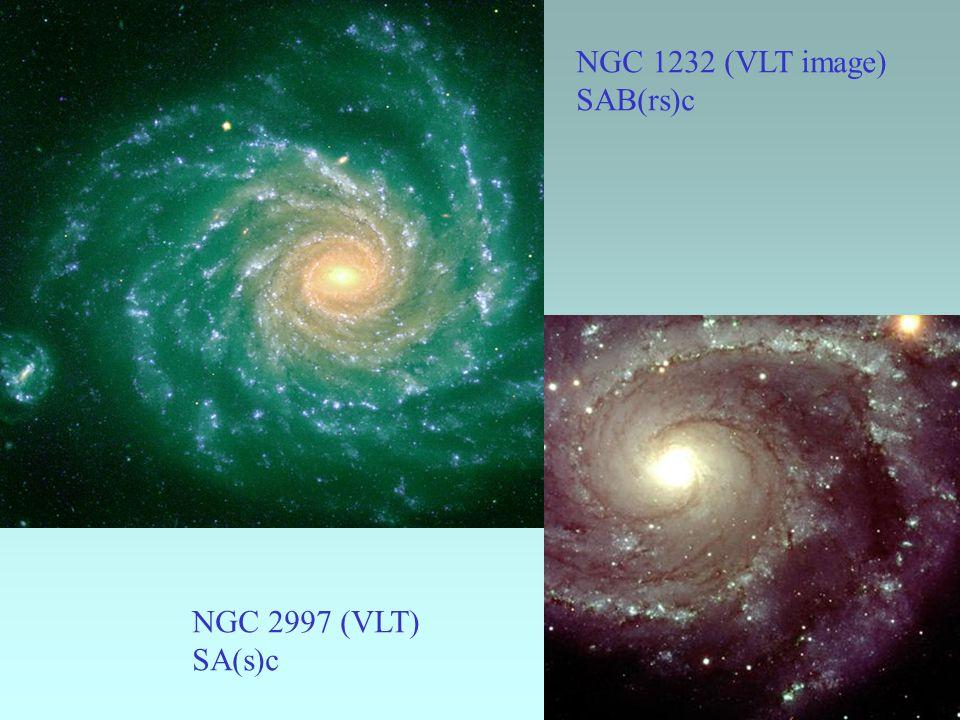 NGC 1365 (VLT) (R )SBb(s)b Messier 83 (VLT) NGC 5236 SAB(s)c