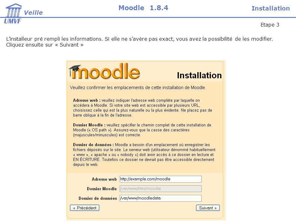 Les points forts de Moodle : Moodle est loutil denseignement à distance le plus utilisé au monde.