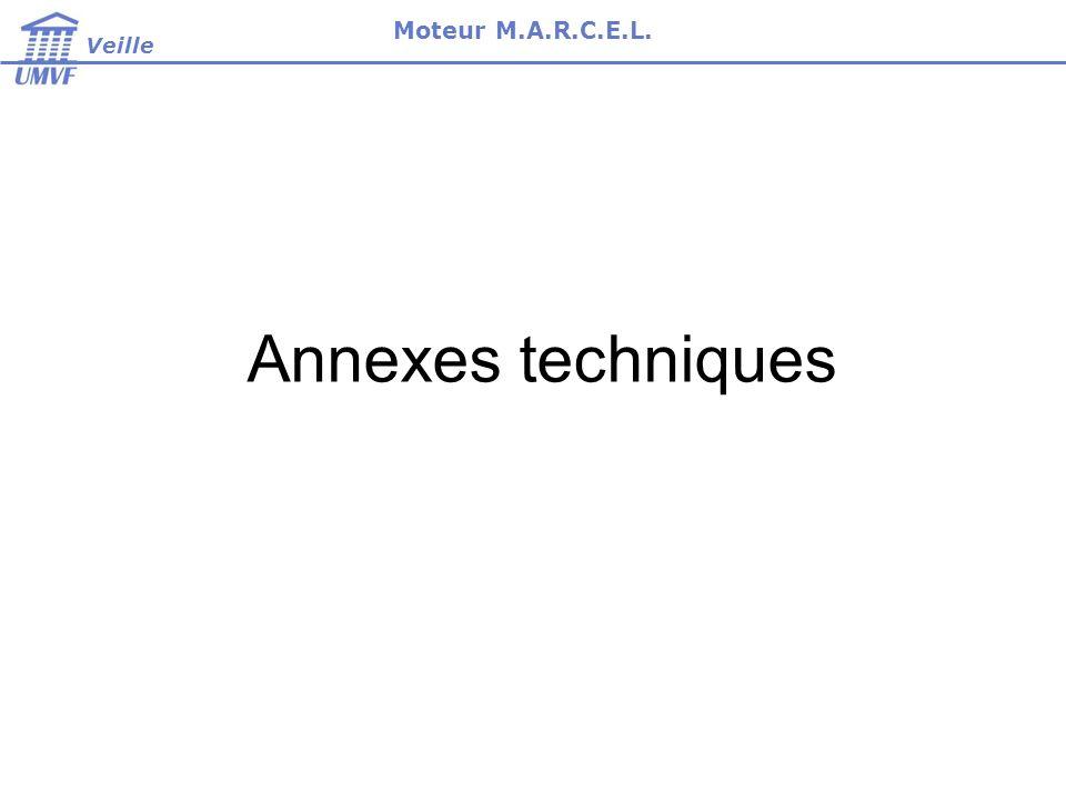 Annexes techniques Veille Moteur M.A.R.C.E.L.