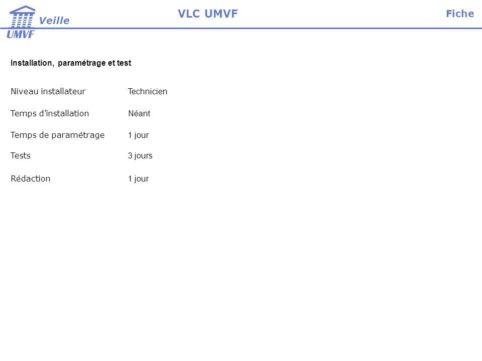 Mode opératoire : Il n y a pas d installation de logiciel vlvc se compose d un binaire qu il faut executer 1.