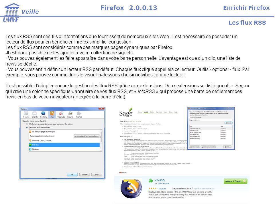 Les flux RSS sont des fils dinformations que fournissent de nombreux sites Web.