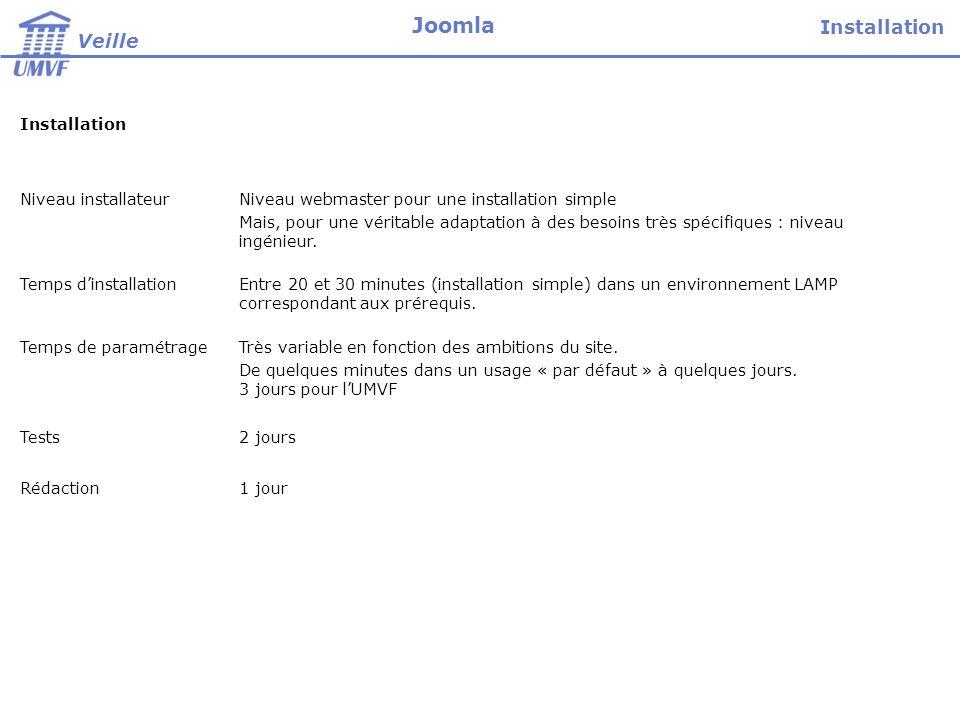 Joomla présente un intérêt évident dans la conception rapide dun site dont les contenus proviennent de plusieurs sources (multi-auteurs).