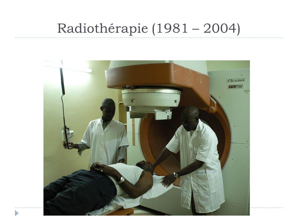 Radiothérapie (1981 – 2004)