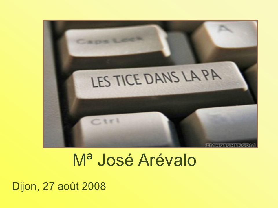 Mª José Arévalo Dijon, 27 août 2008