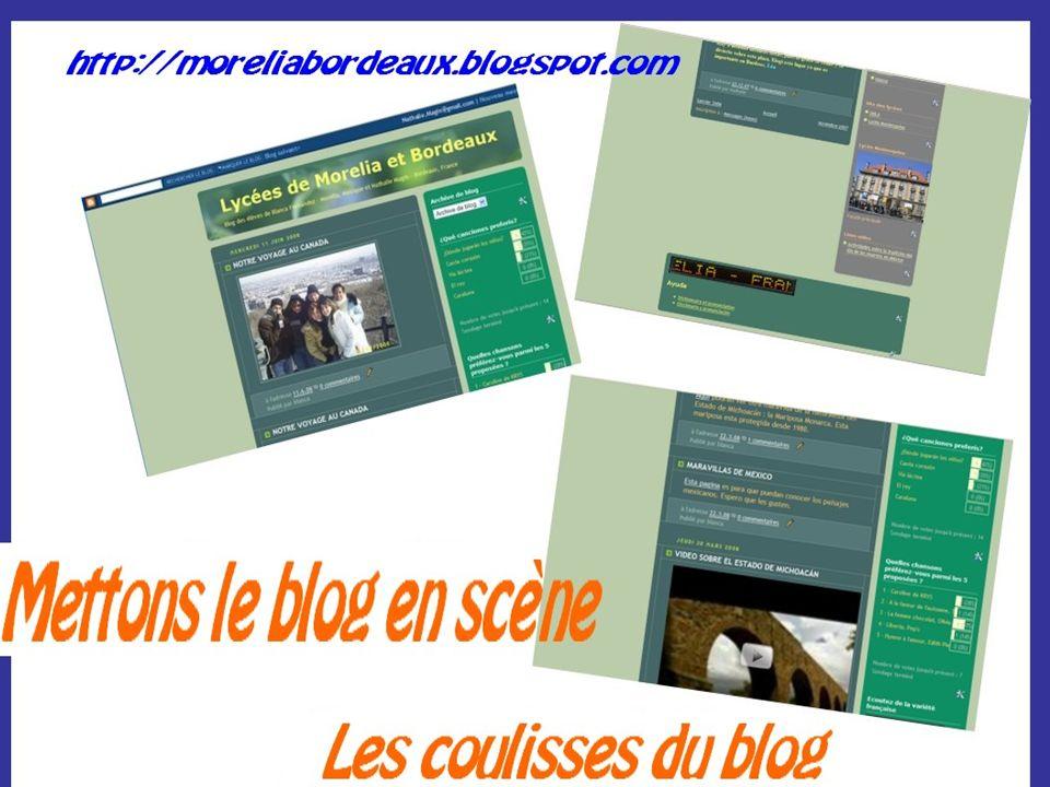 Créer son blog Le blog Bunla/lycée MontesquieuLe blog Bunla/lycée Montesquieu over-blog Diverses possibilités dotclear Skyrock http://www.laclasse.