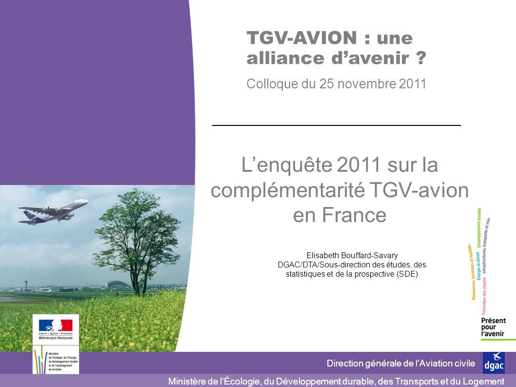 1 1 DGAC/DTA 25 novembre 2011 Ministère de l'Écologie, du Développement durable, des Transports et du Logement Direction générale de lAviation civile