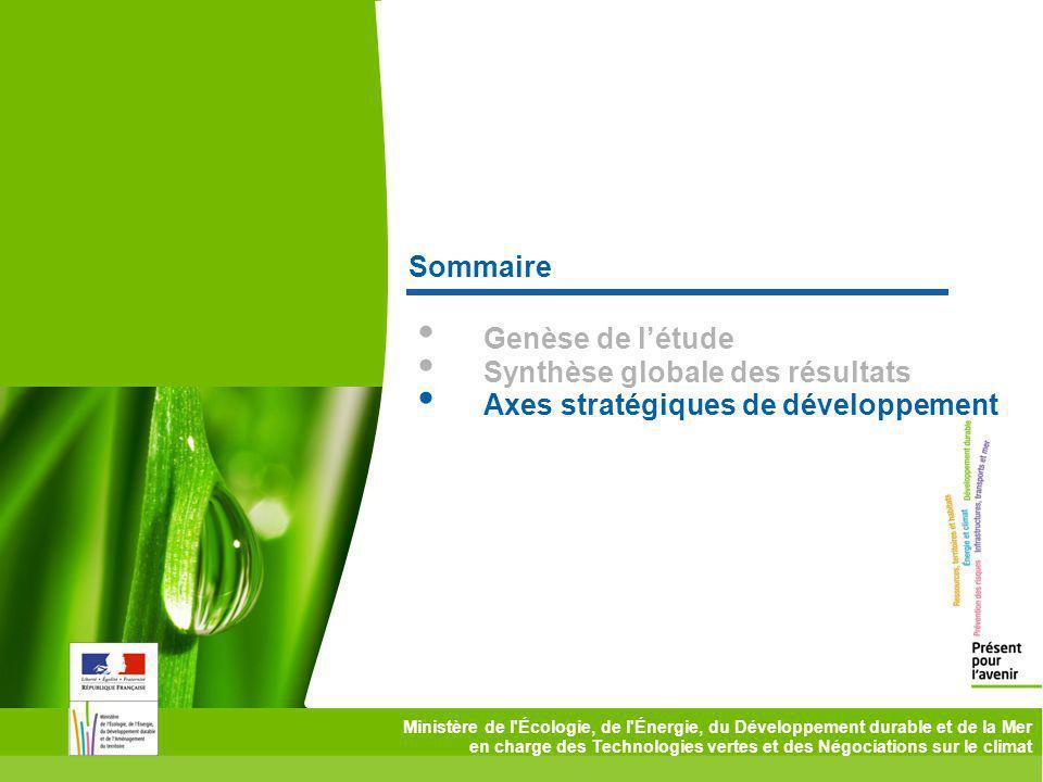 Ministère de l'Écologie, de l'Énergie, du Développement durable et de la Mer en charge des Technologies vertes et des Négociations sur le climat Somma