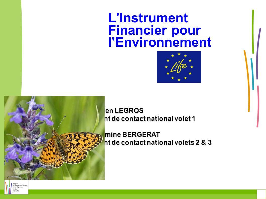 Principaux programmes pour lenvironnement 6 e programme daction pour lenvironnement 2001-2010 Paquet Énergie-Climat, EcoAP (écoinnovations), SET Plan (technologies énergétiques), Biodiversité, etc.
