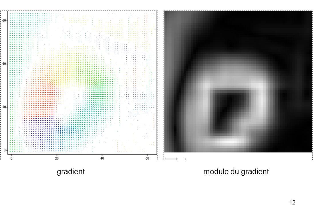 12 module du gradient gradient