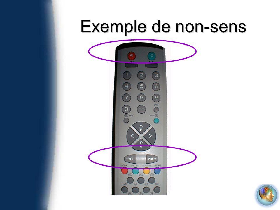 Exemple de non-sens
