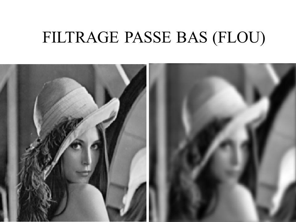 38 FILTRAGE PASSE BAS (FLOU)