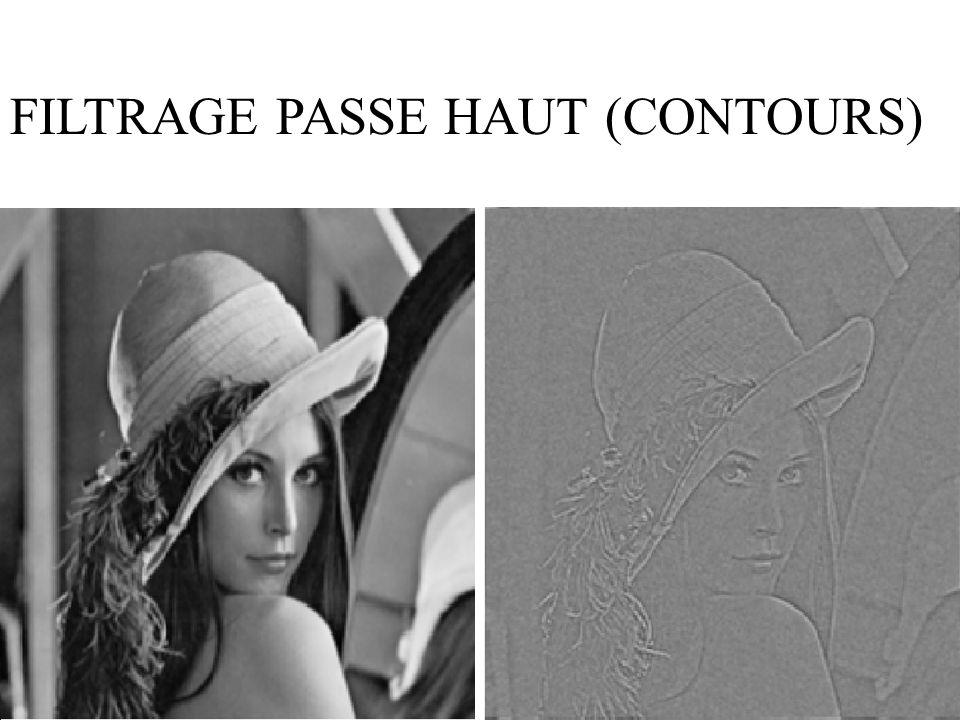 39 FILTRAGE PASSE HAUT (CONTOURS)