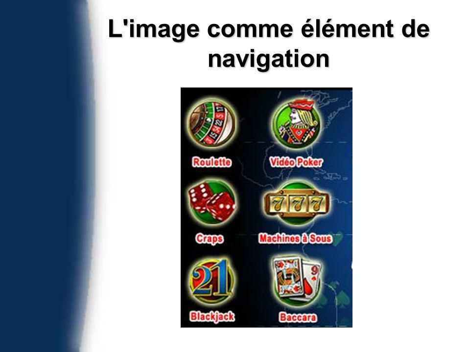 L image comme élément de navigation
