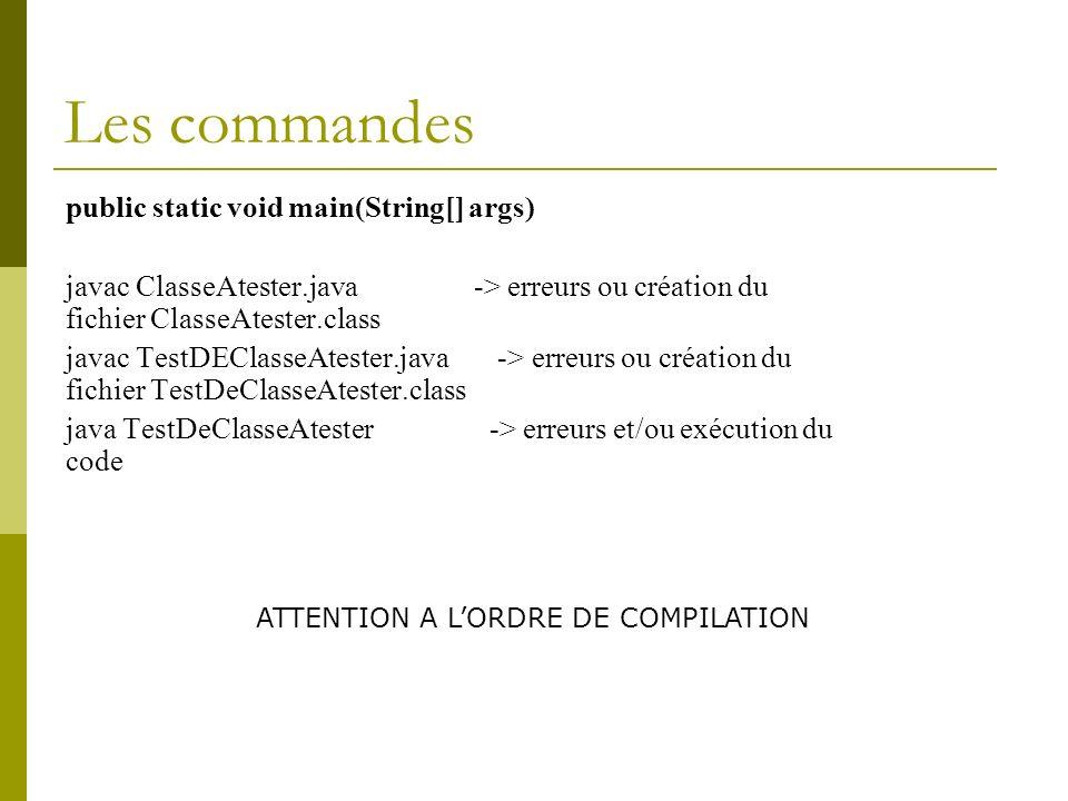 Javadoc et classe POUR UNE CLASSE Class comment: /** * The Responder class represents a response * generator object.