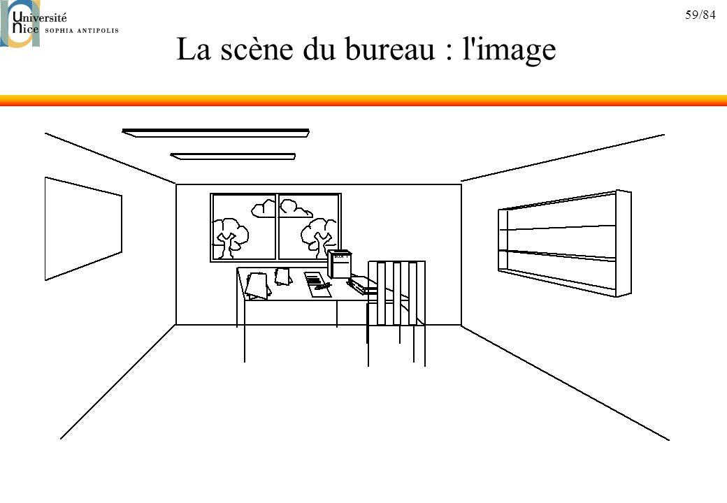 59/84 La scène du bureau : l'image