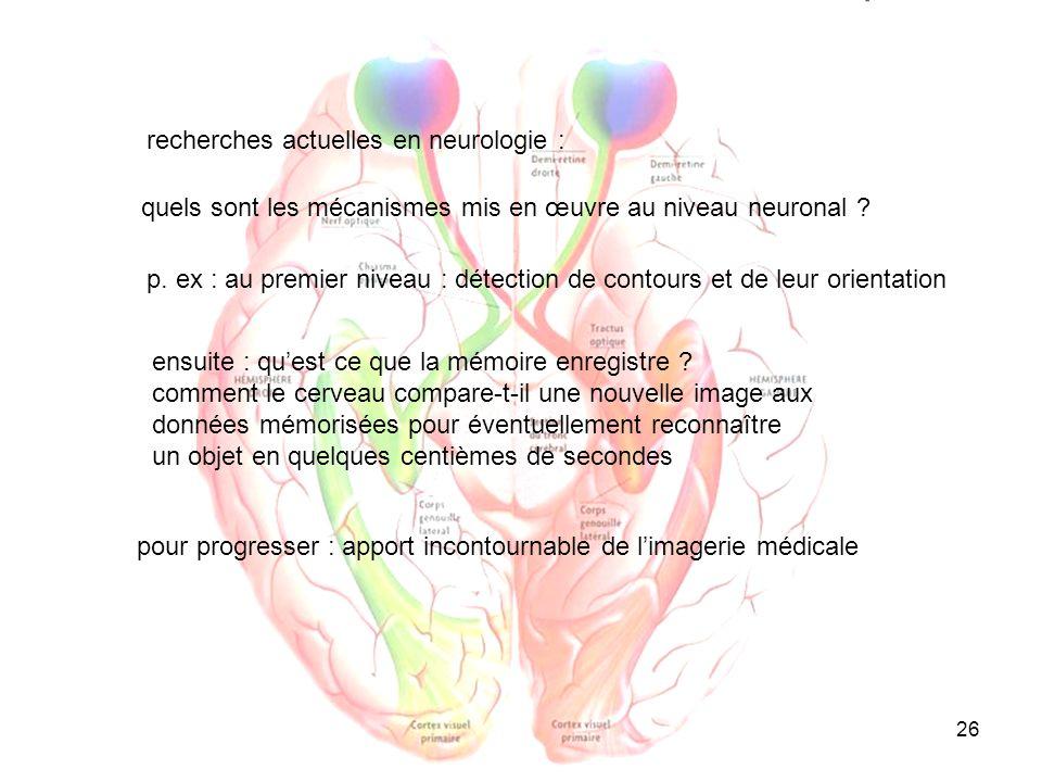 26 quels sont les mécanismes mis en œuvre au niveau neuronal ? recherches actuelles en neurologie : ensuite : quest ce que la mémoire enregistre ? com