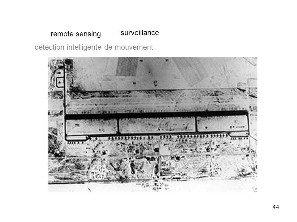 44 surveillance remote sensing détection intelligente de mouvement