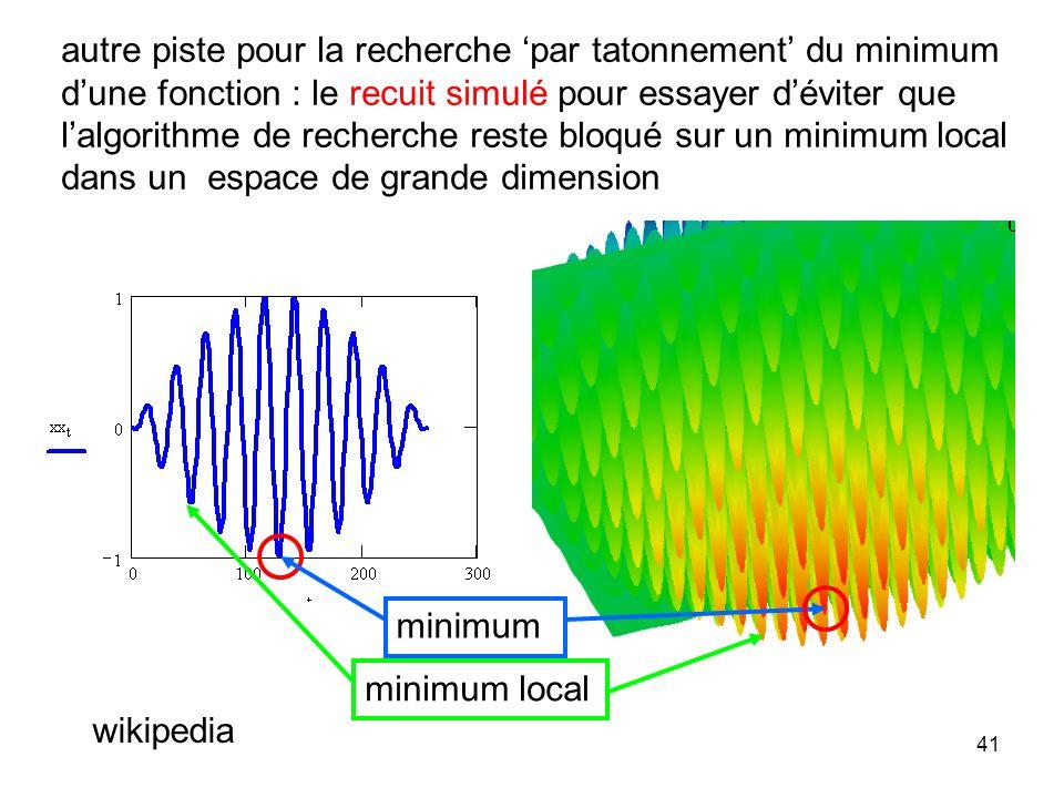 40 assez souvent présentée comme une méthode miracle mais il sagit dapproximation de fonction Stuttgart Neural Network Simulator (SNNS), université de