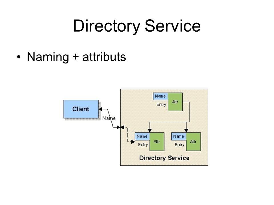 Directory Service Naming + attributs