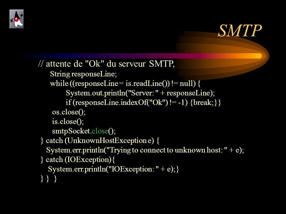 SMTP // attente de