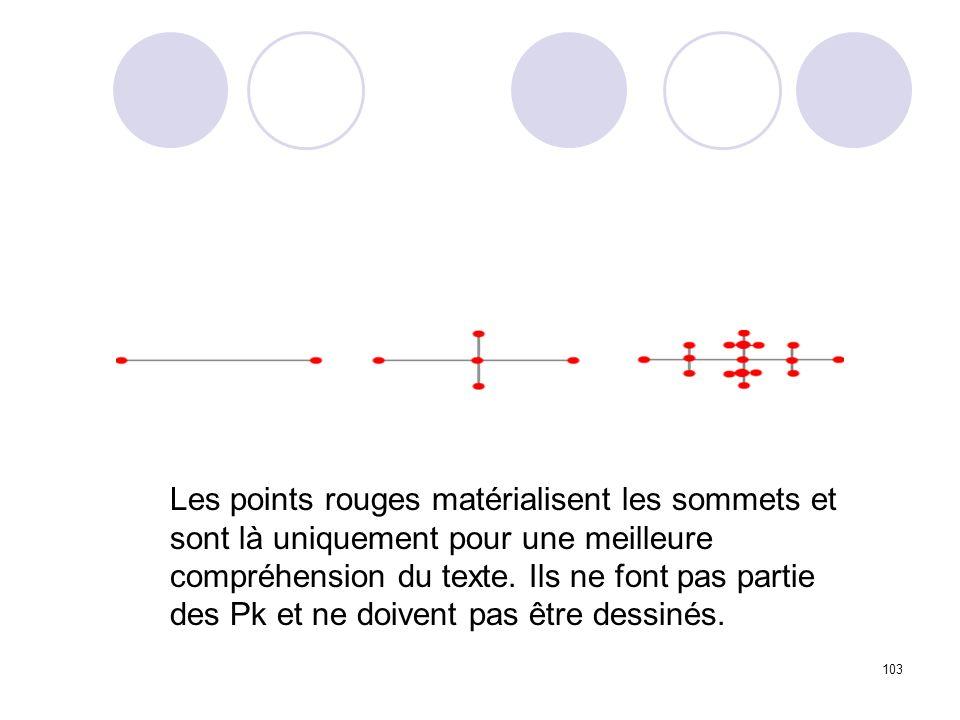 103 Les points rouges matérialisent les sommets et sont là uniquement pour une meilleure compréhension du texte.