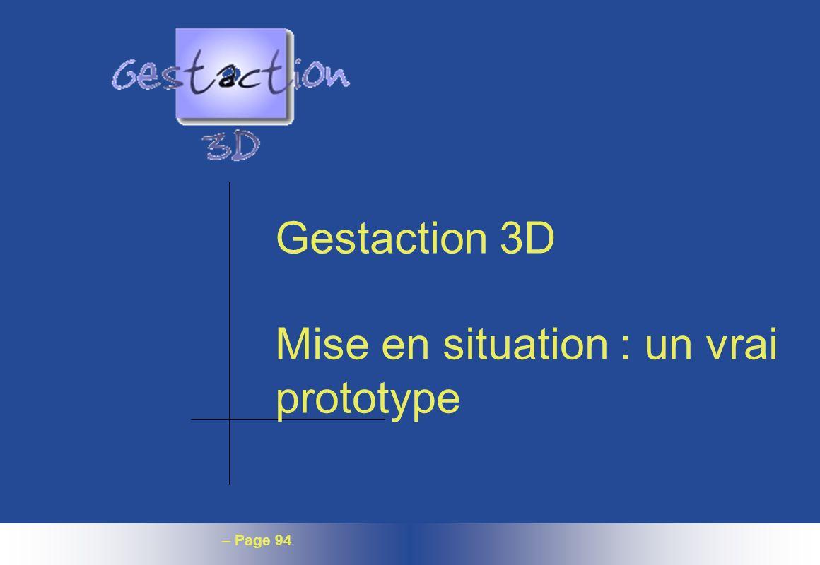 – Page 94 Gestaction 3D Mise en situation : un vrai prototype