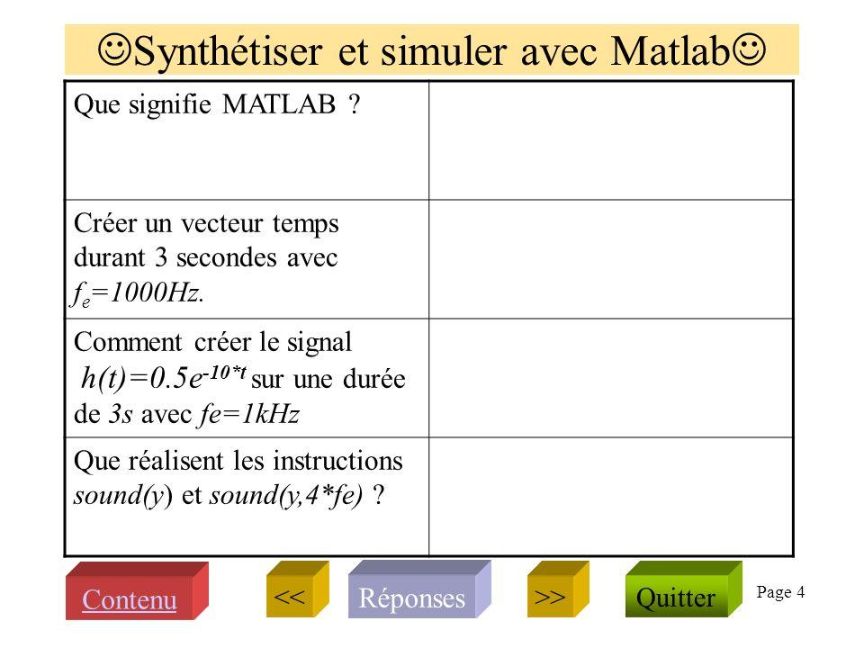 Page 14 Echantillonner, sous échantillonner Signal échantillonné s* associé à et son spectre .