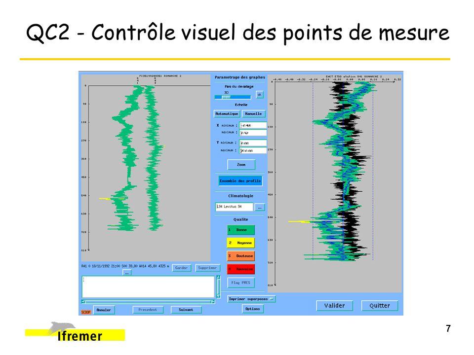 8 QC2 - Control of the Data points Minimum & Maximum - Broad Range Check 0 200 2000 6000