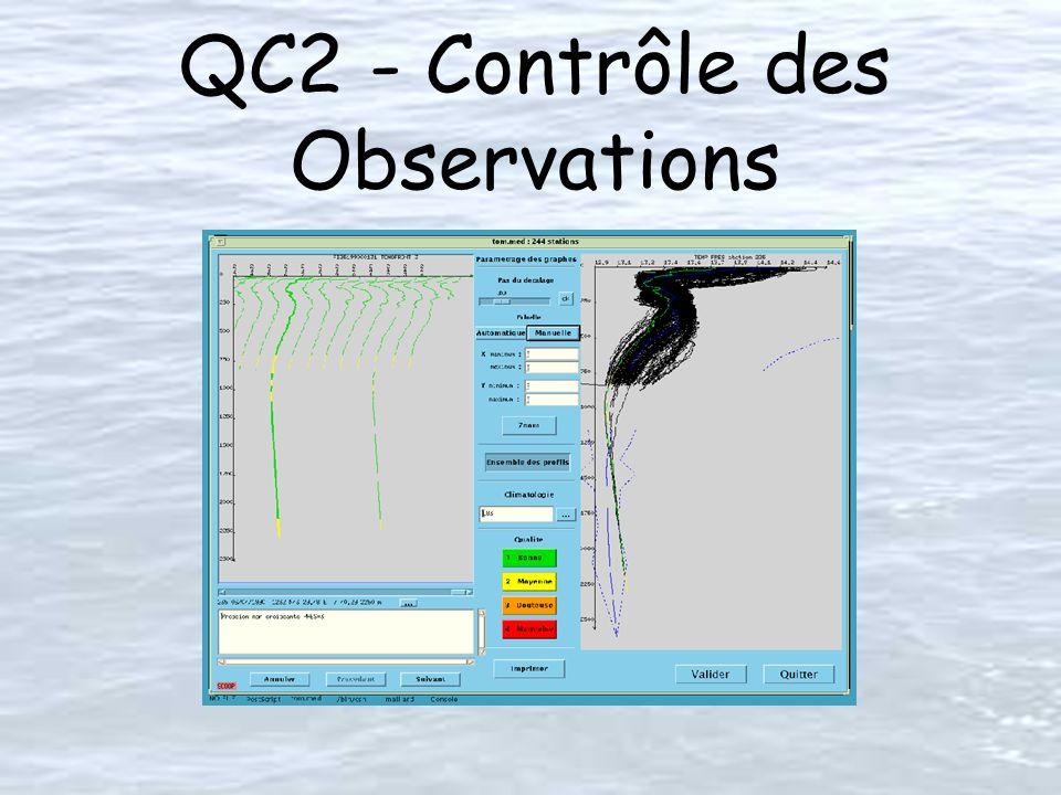 QC2 - Contrôle des Observations