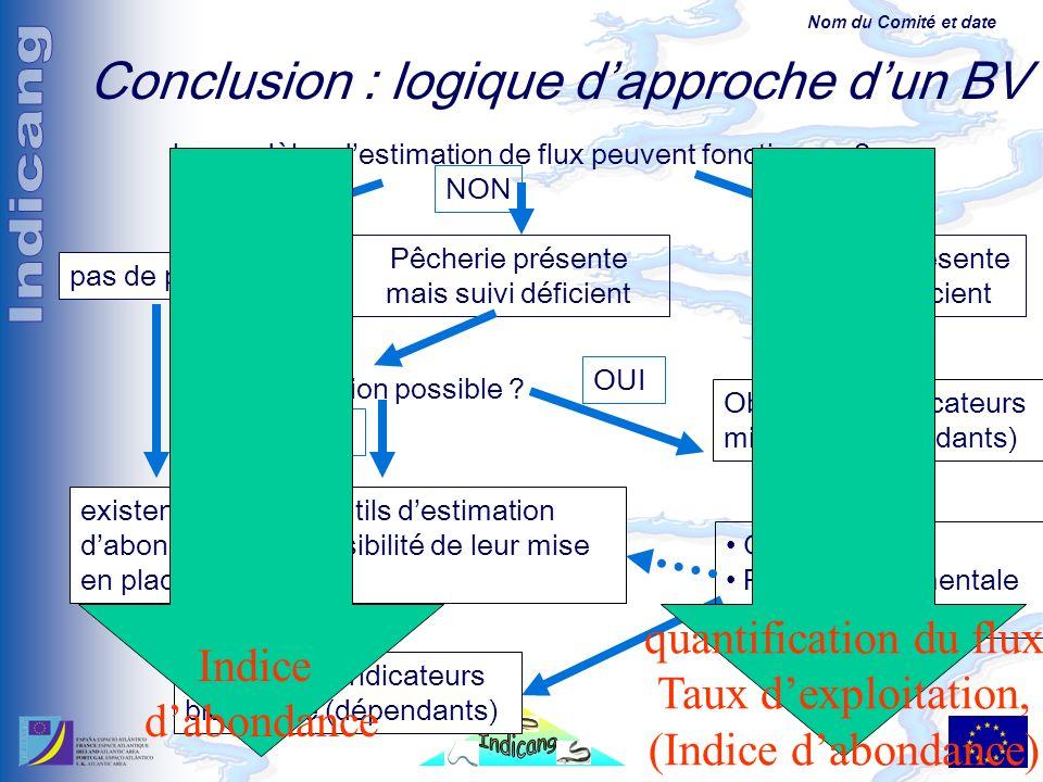 Nom du Comité et date les modèles destimation de flux peuvent fonctionner .