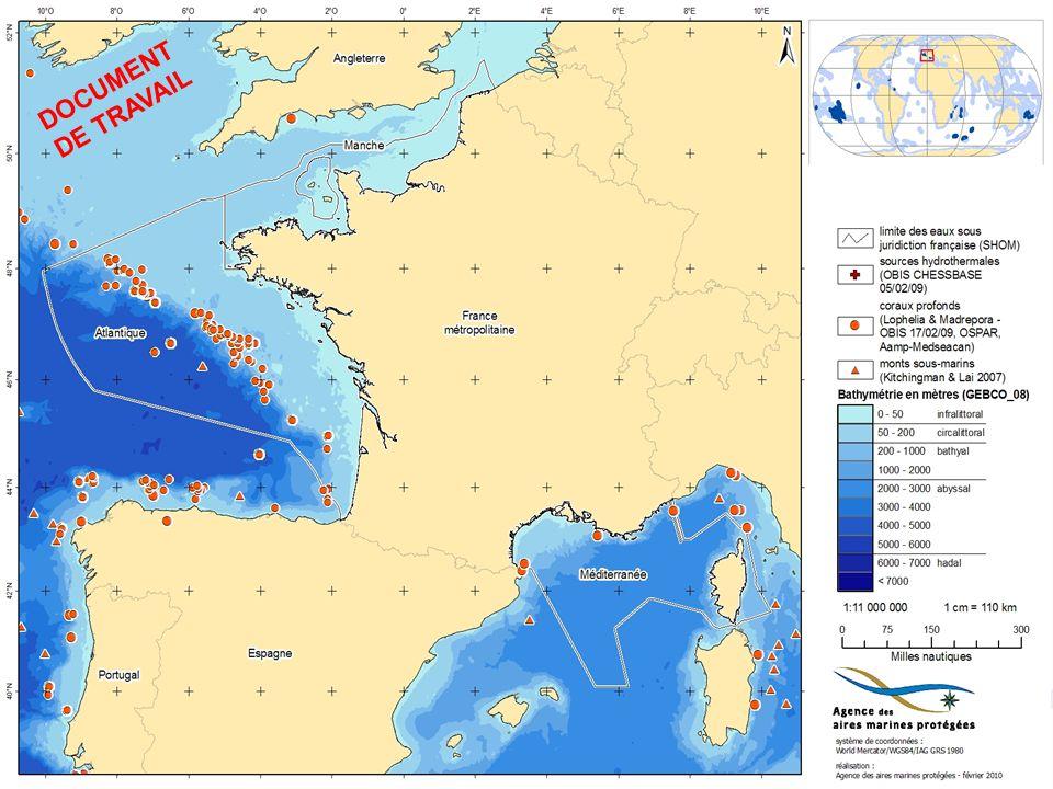 Monts sous-marins (Polynésie) VALORIG 2011 – Ifremer Nantes