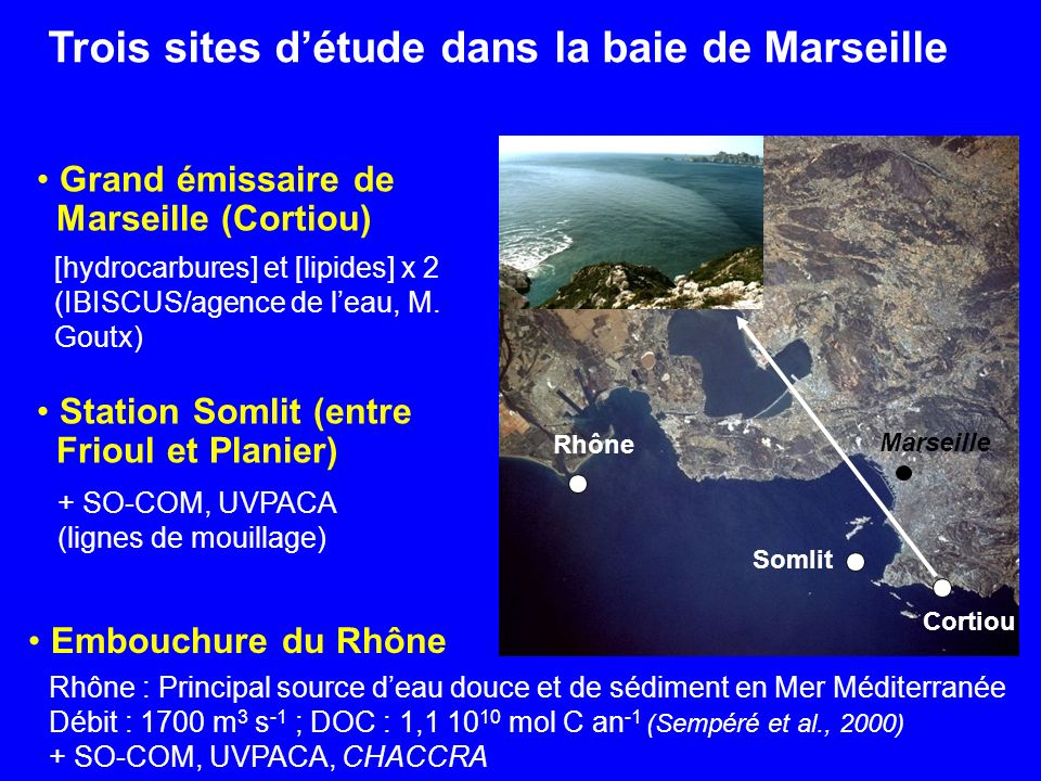 Trois sites détude dans la baie de Marseille Embouchure du Rhône Imprimer Envoyer par e-mail Obtenir lURL de cette page nvoyer par e-mail btenir lURL