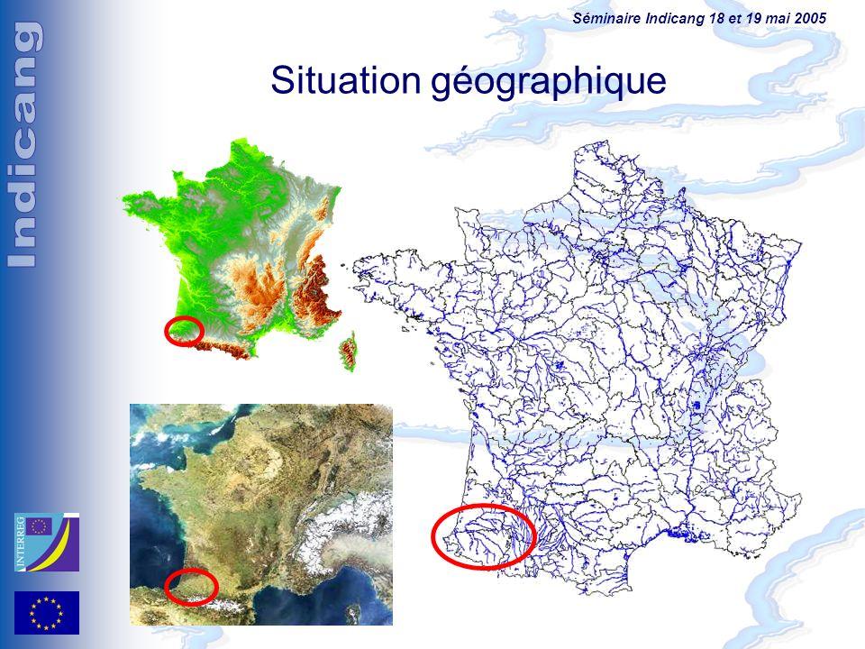 Séminaire Indicang 18 et 19 mai 2005 Situation géographique