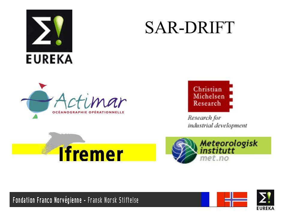 SAR-DRIFT - Comité dexperts Objectif: Assurer en permanence que les développements ne ségarent pas et conservent pertinence et compatibilité par rapport aux méthodes de travail, aux besoins, aux outils existants/futurs et aux desiderata des opérationnels.