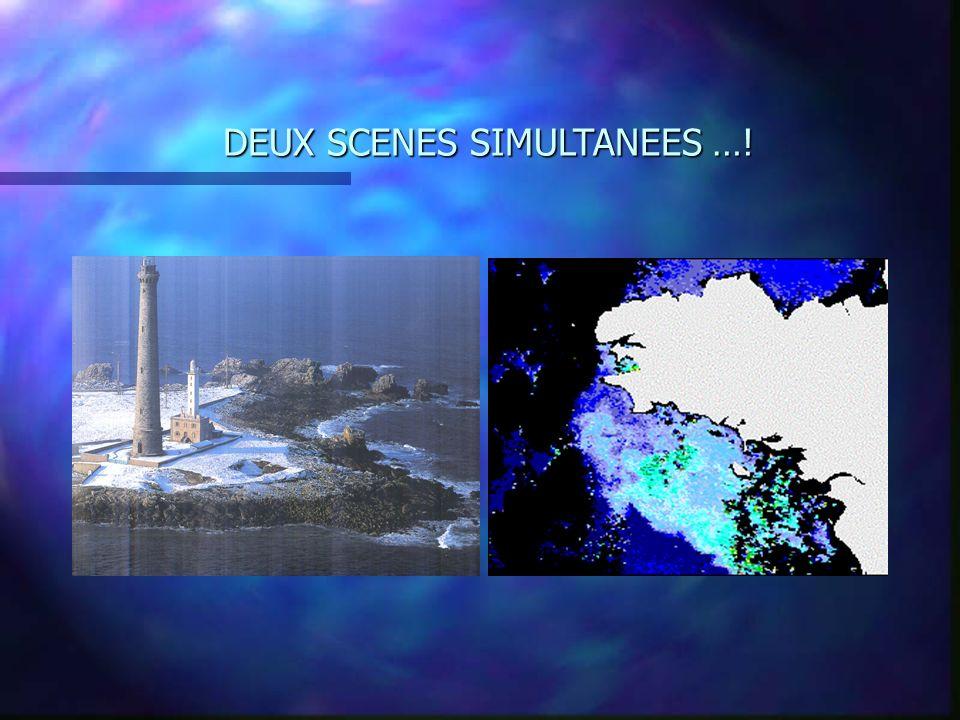 DEUX SCENES SIMULTANEES …!