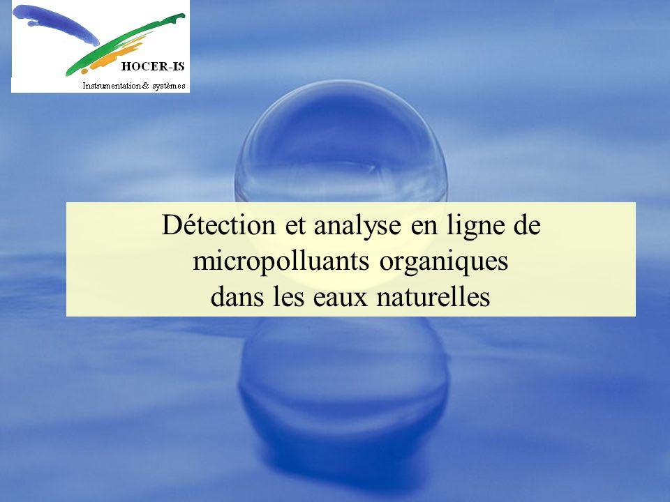 Dopages eaux traitées Conditions: Tests réalisés par la CU de Nantes sur des eaux de Loire, dopées après filtration.
