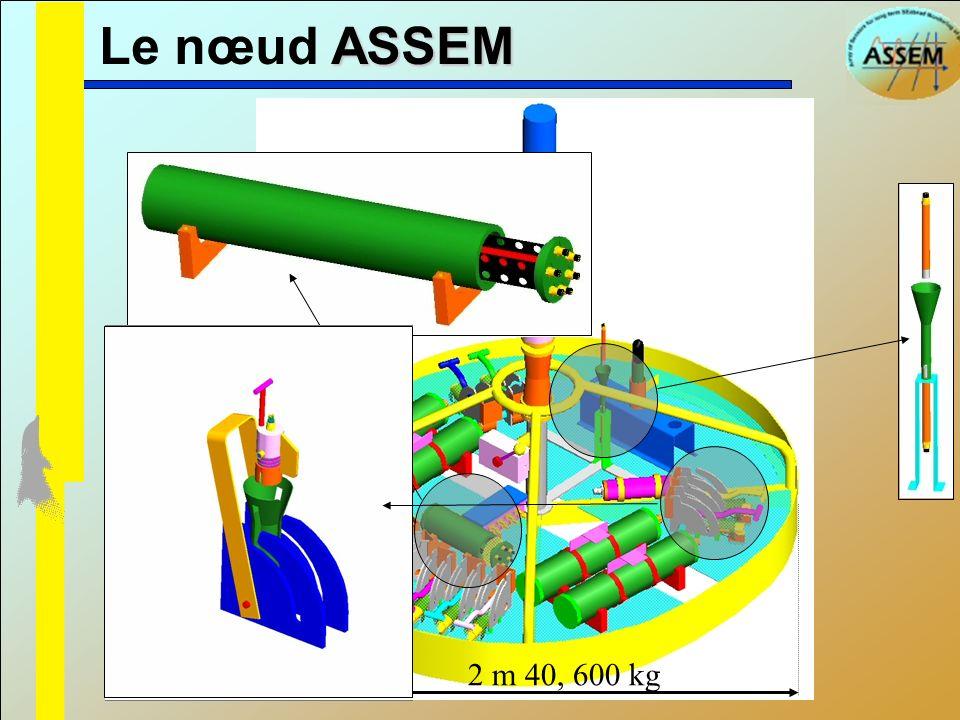 ASSEM Le nœud ASSEM 2 m 40, 600 kg