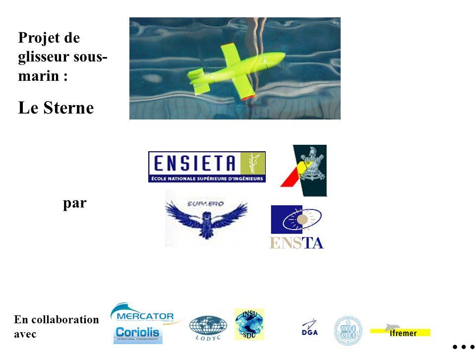… Projet de glisseur sous- marin : Le Sterne par En collaboration avec
