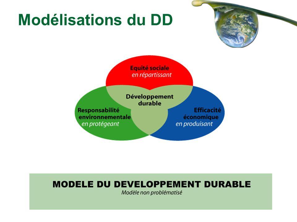 Modélisations du DD