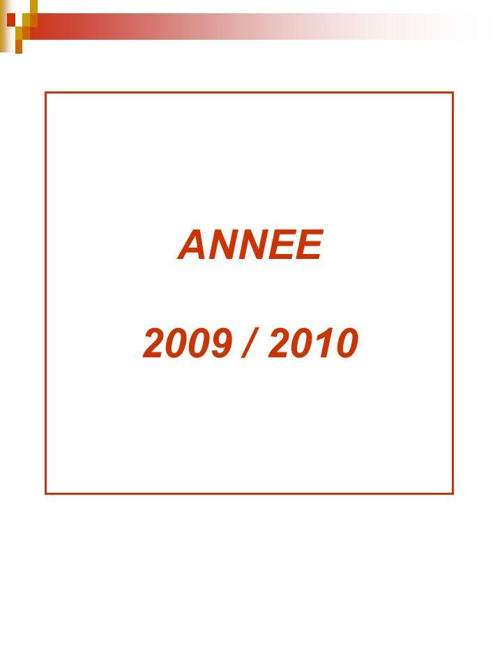 ANNEE 2009 / 2010