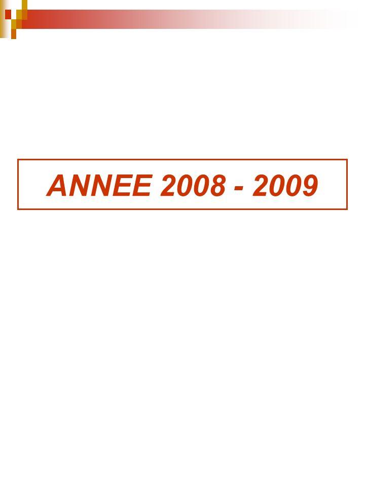 ANNEE 2008 - 2009