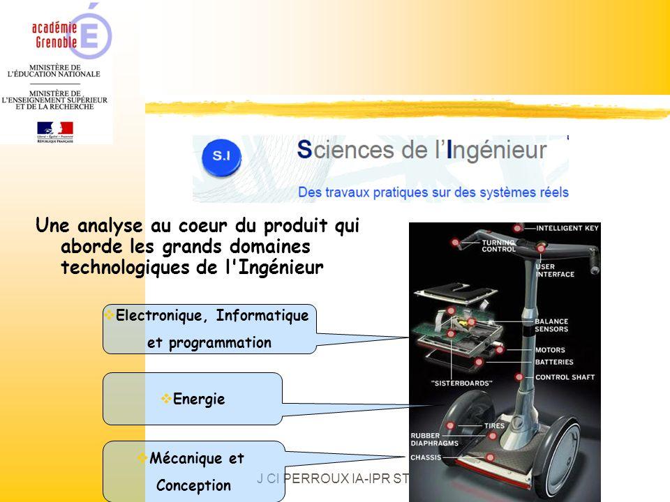 Une analyse au coeur du produit qui aborde les grands domaines technologiques de l'Ingénieur Electronique, Informatique et programmation Energie Mécan