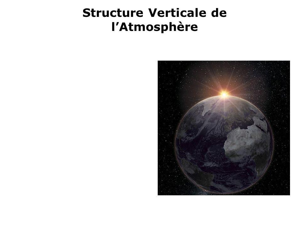Structure Verticale de lAtmosphère