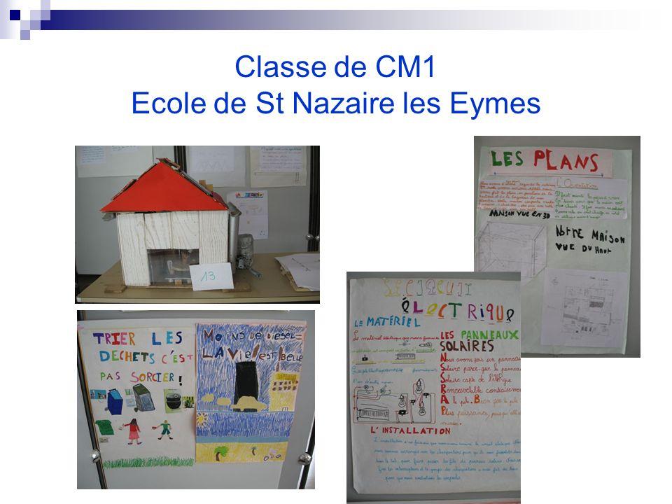 Classe de CM1 Ecole de St Nazaire les Eymes