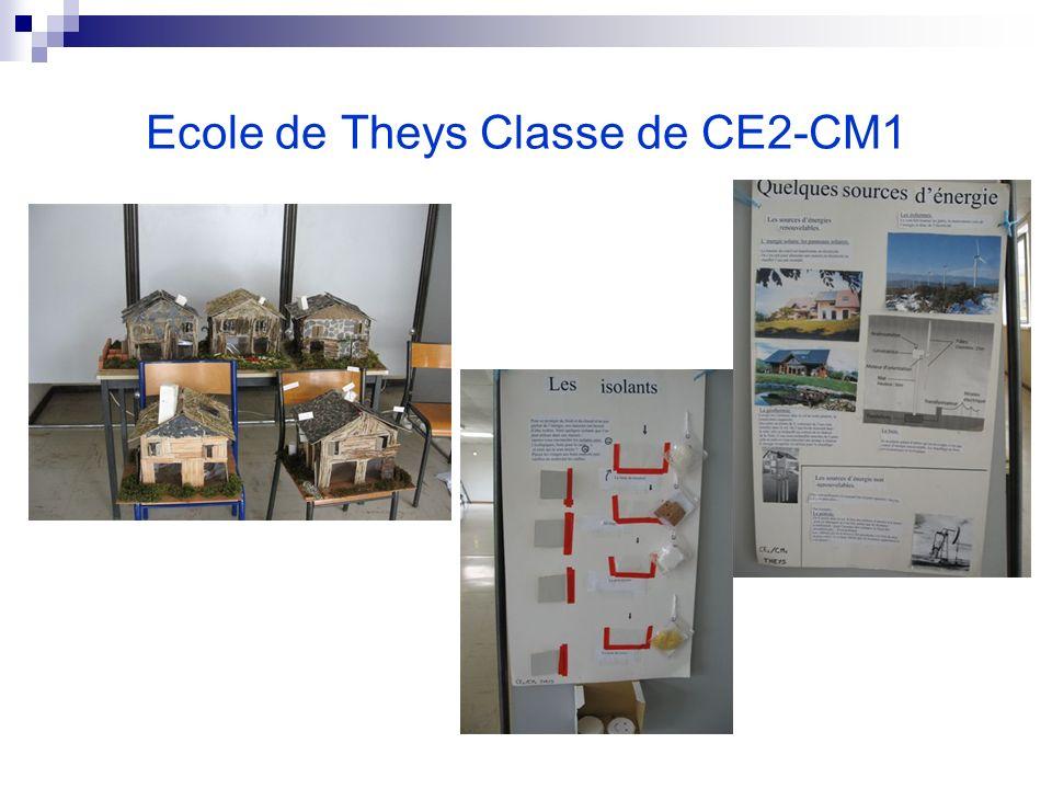 Ecole de Theys Classe de CE2-CM1