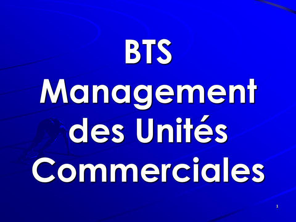 1 BTS Management des Unités Commerciales