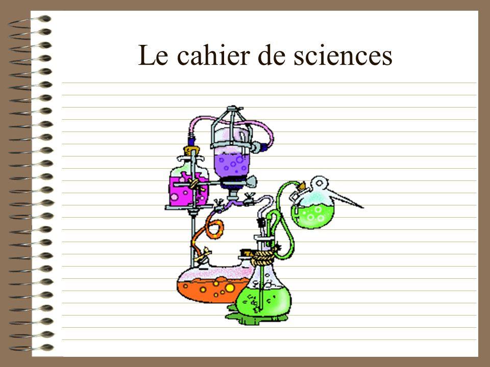 Le cahier dexpériences Quels types décrits, sous quelle forme, pour quelles fonctions ?