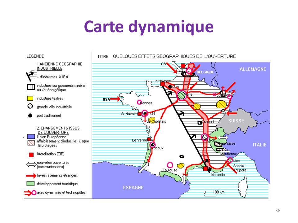 Carte dynamique 36