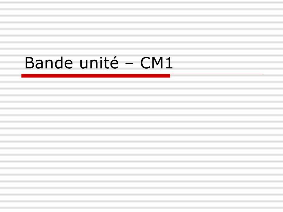 Bande Unité Ermel CM1 - Hatier Problème posé : Identifier parmi une famille de segments celui qui a même longueur quun segment donné et communiquer des informations à un camarade qui ne le voit pas de le reconnaître dans la famille.
